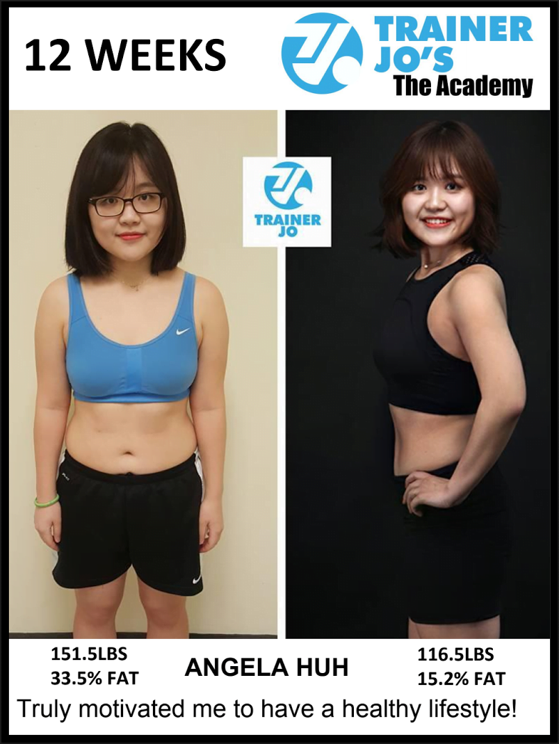 Angela changes her life by putting fitness program in place