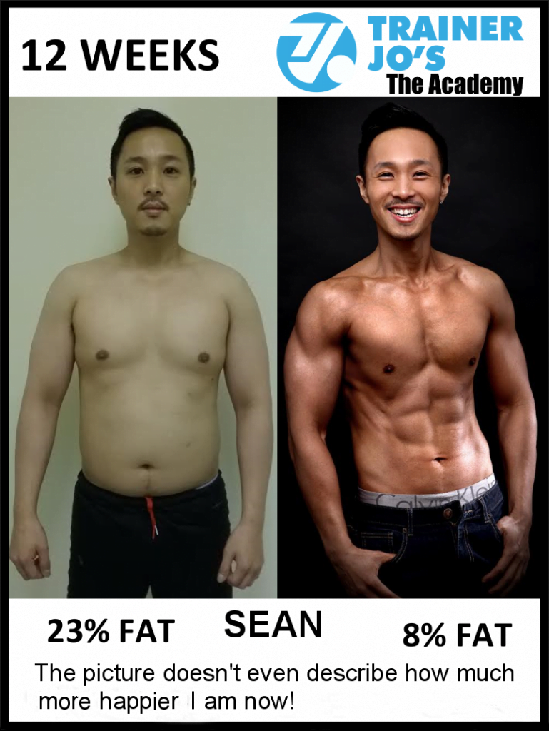 Sean quoted that the picture does no justice to how he is feeling with new physique