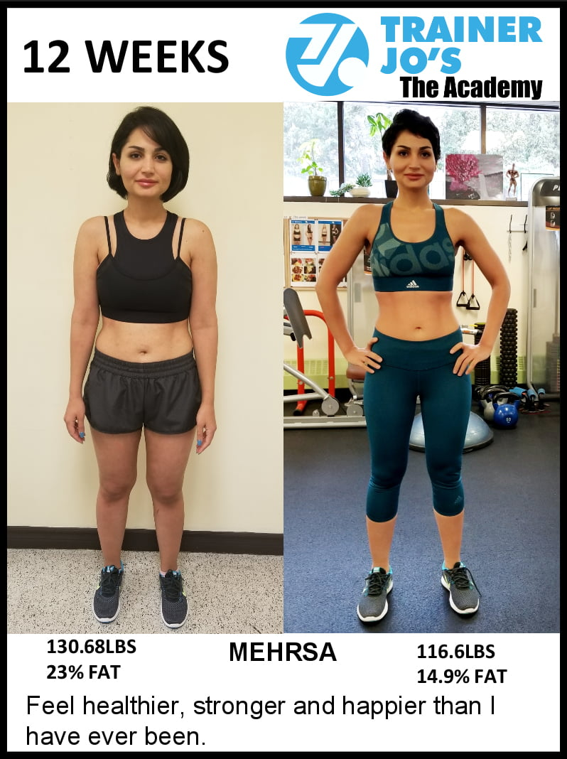 Mehrsa feels stronger and healthier